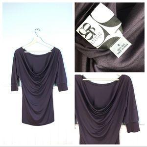 Barney's New York CO OP Silk Cowl Blouse S